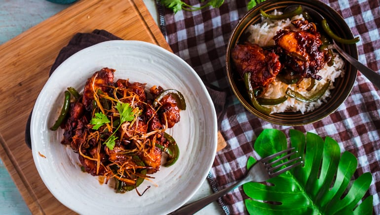 Cách nấu Gà Chiên xào Cay Ngọt & Kĩ Thuật Velvet | Spicy Asian Garlic Fried Chicken