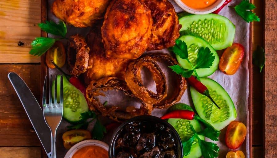 Beer Batter Fried Chicken Drumsticks – Đùi Gà Chiên Bia Siêu Giòn